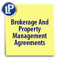 Brokerage & Property Management Agreements