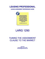LARG 1290 Tuning The Assignment Clause To The Market