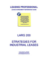 LARG 200 Strategies For Industrial Leases
