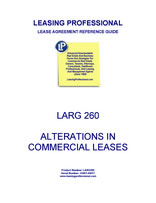 LARG 260 Alterations In Commercial Leases