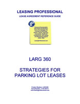 LARG 360 Strategies For Parking Lot Leases