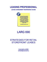 LARG 690 Strategies For Retail Storefront Leases