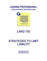 LARG 750 Strategies To Limit Liability